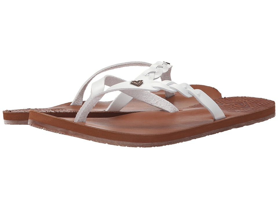 Roxy - Liza (White) Women's Sandals