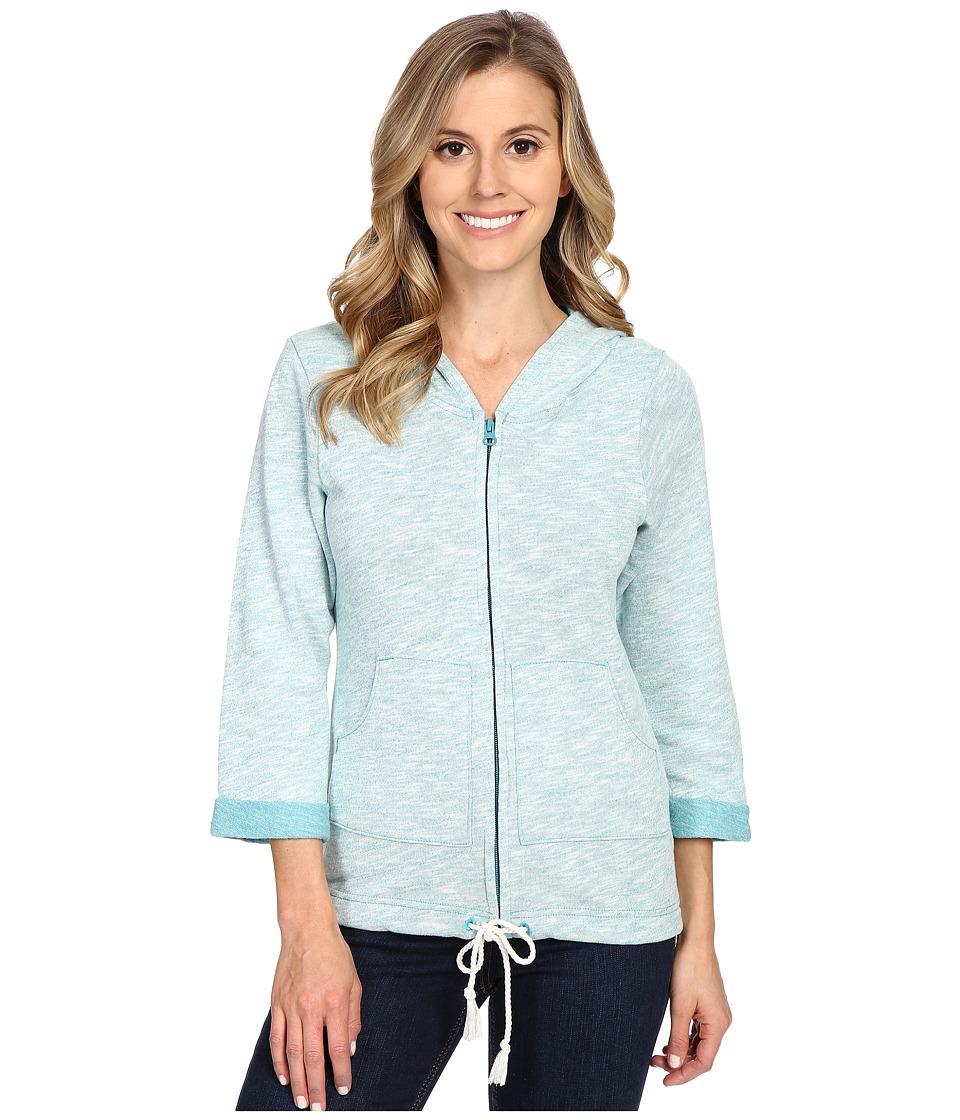 Columbia - Wear It Everywhere Hoodie (Emerald Sea Heather) Women's Sweatshirt