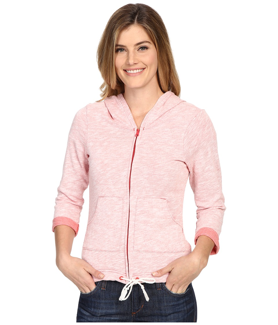Columbia - Wear It Everywhere Hoodie (Sunset Red Heather) Women's Sweatshirt