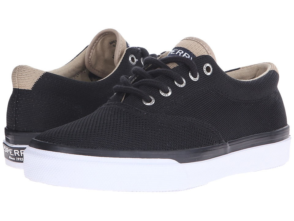 Sperry Top-Sider Striper LL CVO Knit (Black) Men