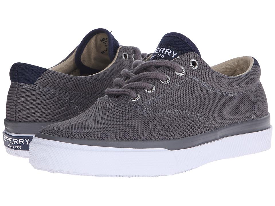 Sperry - Striper LL CVO Knit (Grey) Men's Slip on Shoes