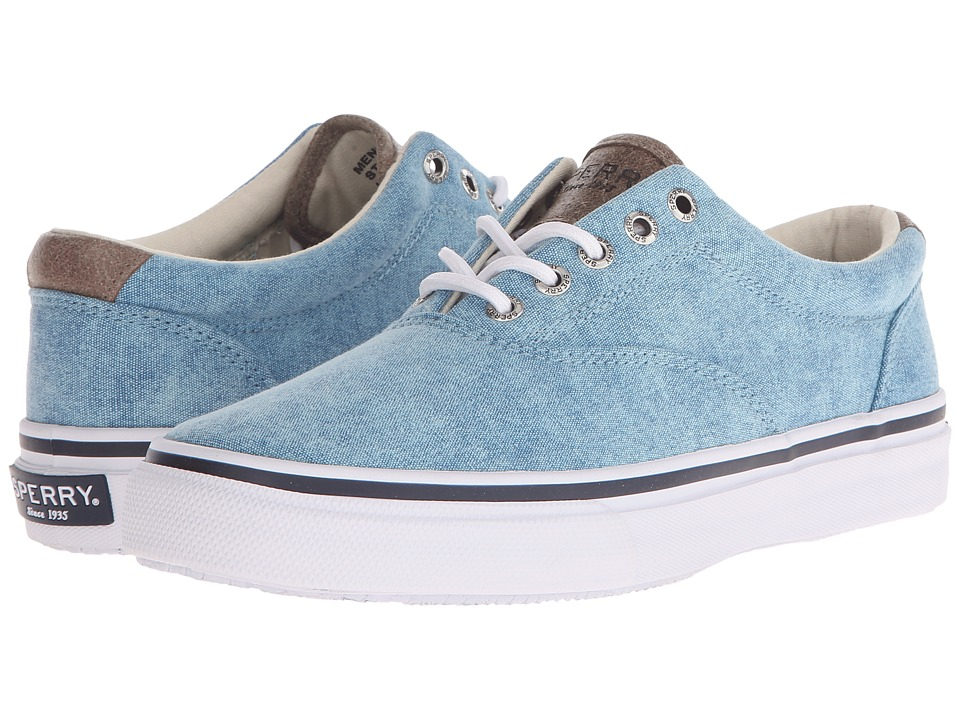 Sperry Top-Sider Striper LL CVO White Cap (Light Blue) Men