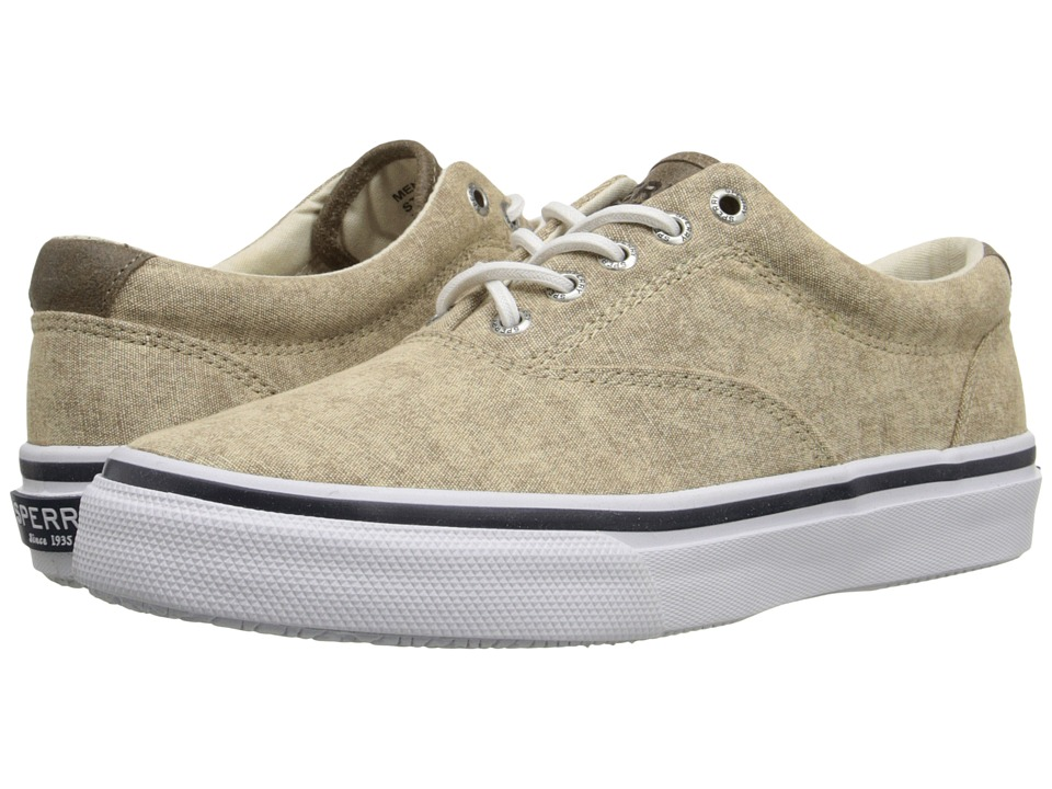 Sperry Top-Sider Striper LL CVO White Cap (Tan) Men