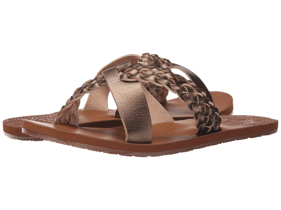 Roxy - Sol (Gold) Women's Sandals