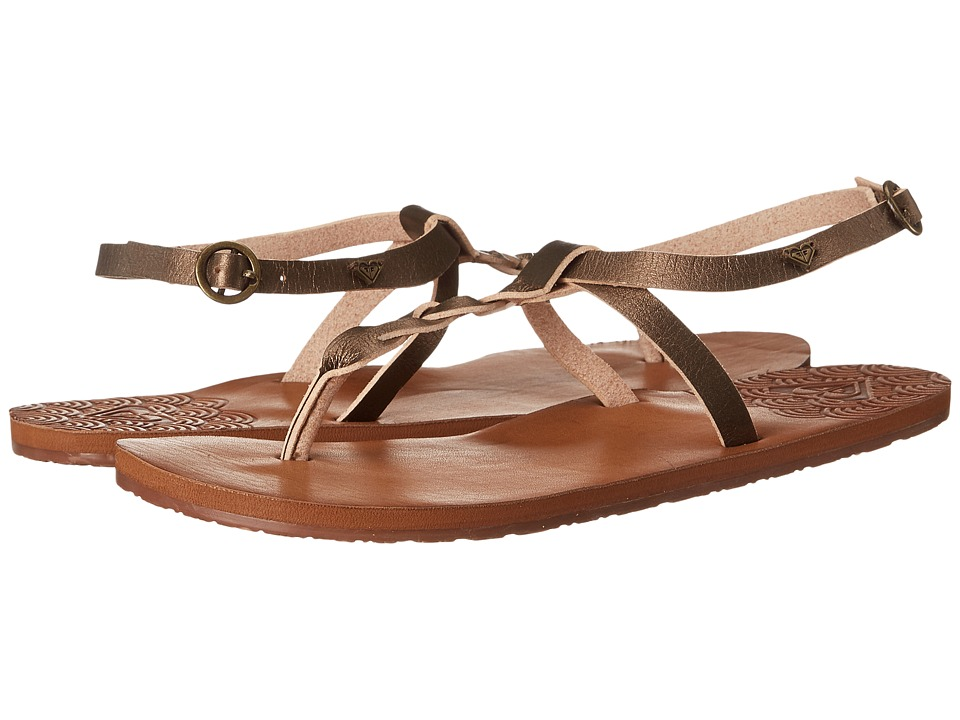 Roxy - Arinna (Gold) Women's Sandals
