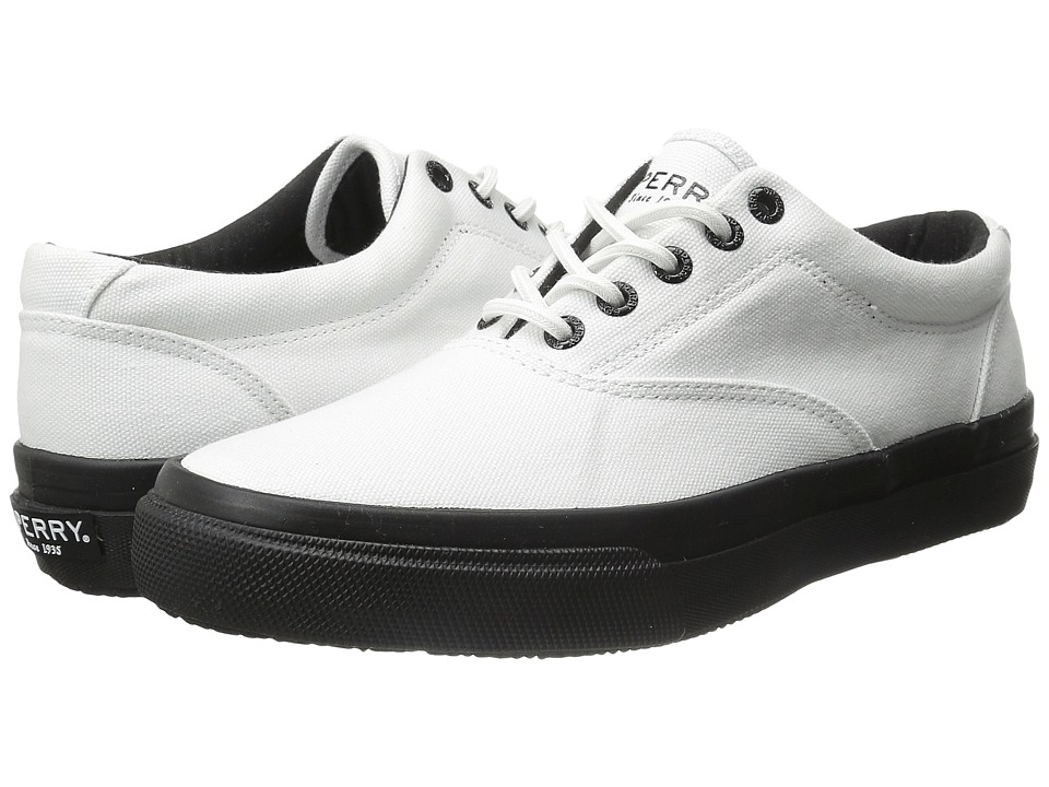 Sperry Top-Sider Striper LL CVO (White/Black) Men