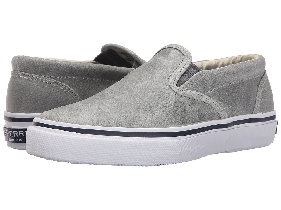 Sperry Top-Sider Striper Slip-On White Cap (Grey) Men