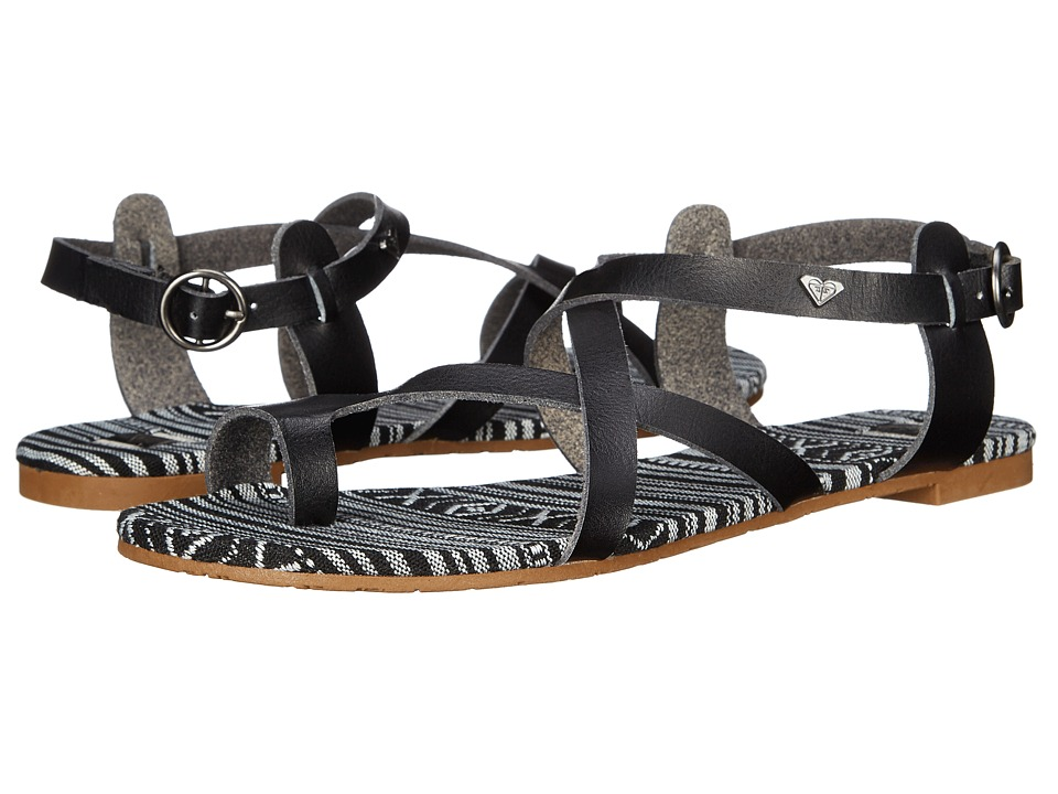 Roxy - Marrakech (Black) Women's Sandals
