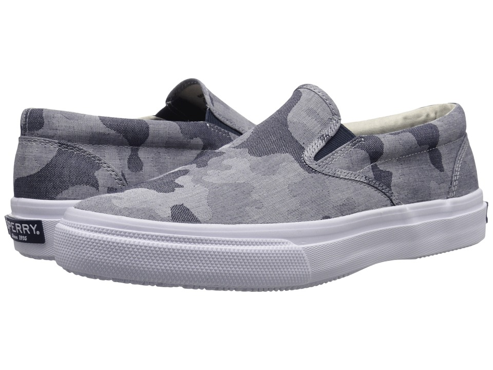Sperry Top-Sider Striper Slip-On Chambray (Blue Camo) Men