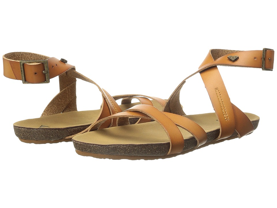 Roxy - Safi (Tan) Women's Sandals