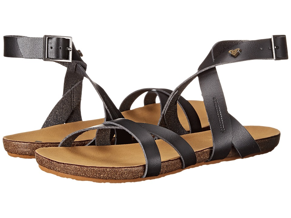 Roxy - Safi (Black) Women's Sandals