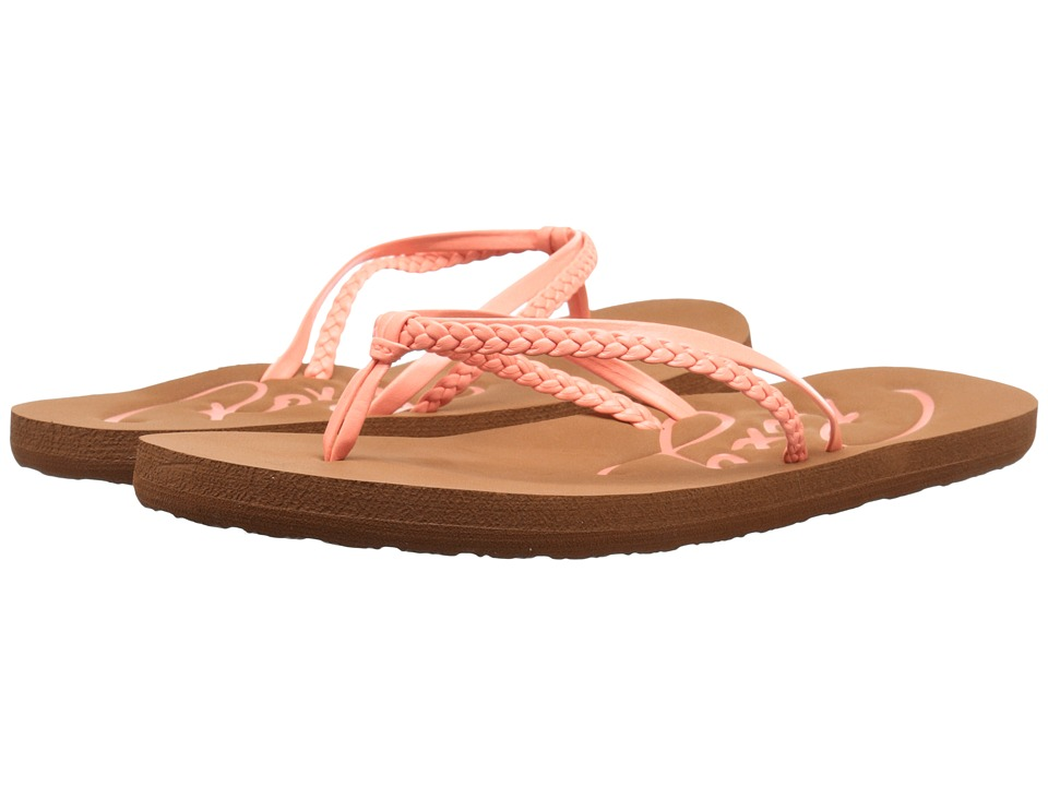 Roxy - Cabo (Peaches) Women's Sandals