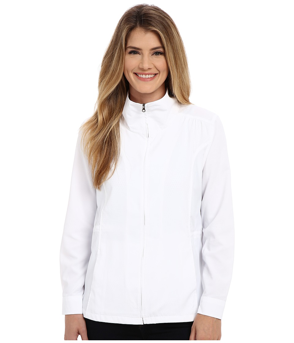 Royal Robbins - Expedition Stretch Sun Cover Top (White) Women's Coat
