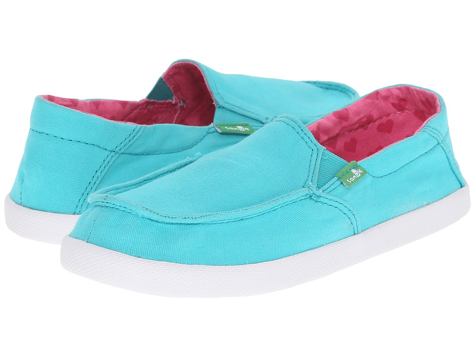 Sanuk Kids - Sideskip (Little Kid/Big Kid) (Turquoise) Girls Shoes