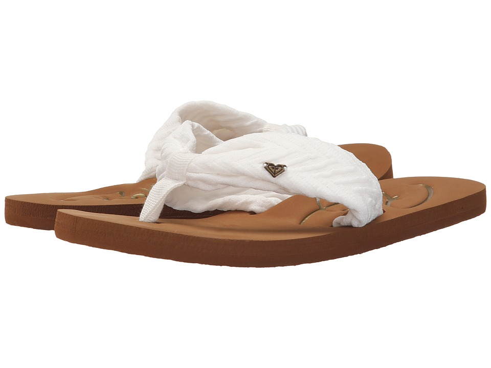 Roxy - Caribe II (White) Women's Sandals