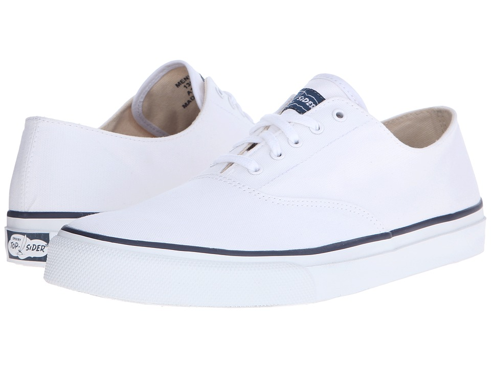 Sperry - CVO Canvas (White) Men's Lace up casual Shoes