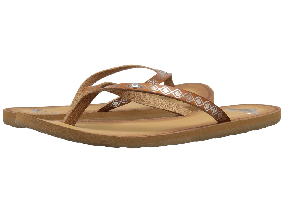 Roxy - Nevis (Tan) Women's Sandals