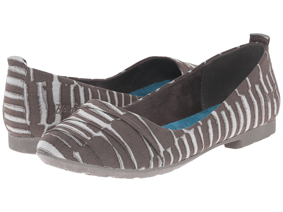 Blowfish - Ruckus (Grey Bocca Print Fabric) Women