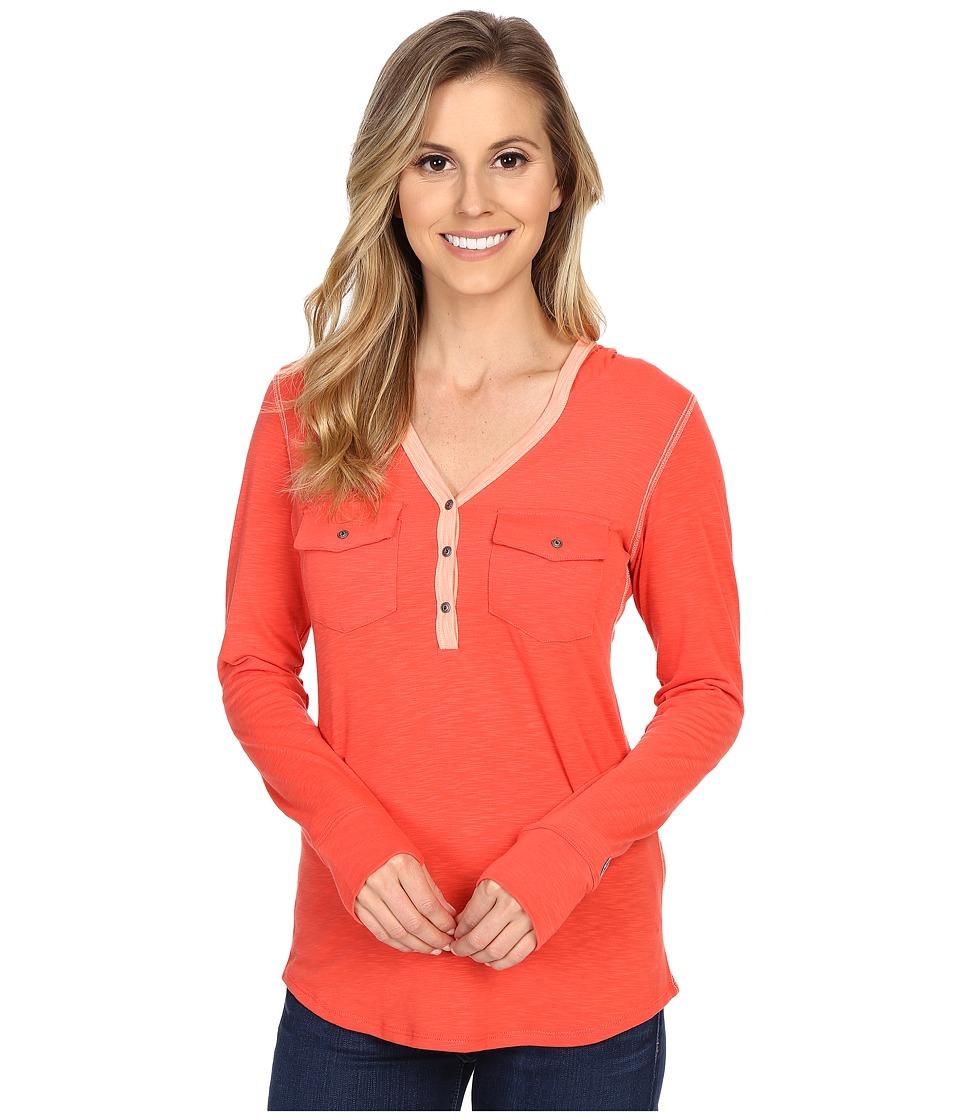 KUHL - Sora Hoodie (Poppy) Women's Sweatshirt