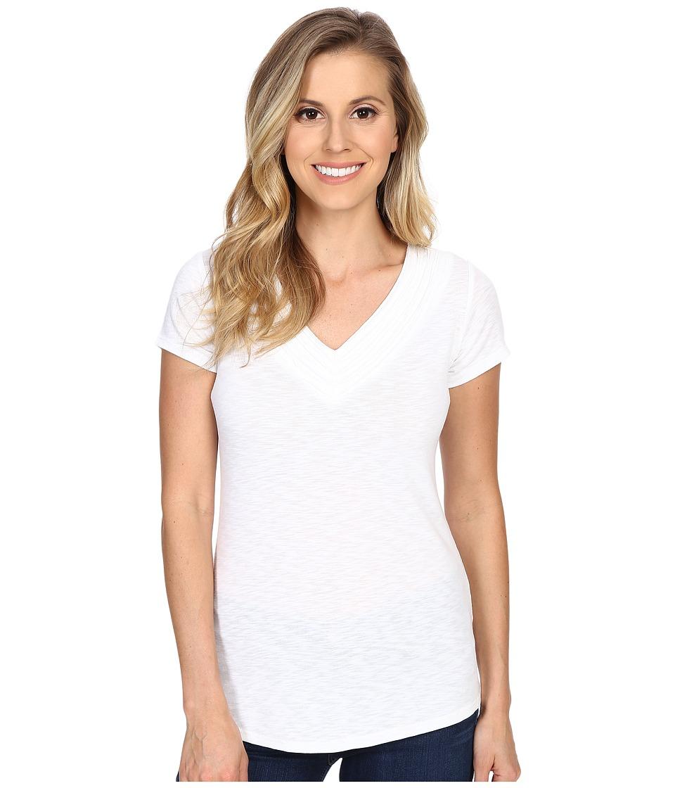 KUHL - Soratm Short Sleeve Top (White) Women's Short Sleeve Pullover
