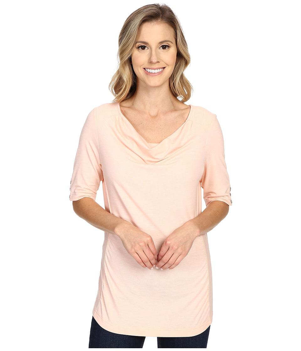Royal Robbins - Essential Tencel Cowl Neck (Light Cantaloupe) Women's Clothing