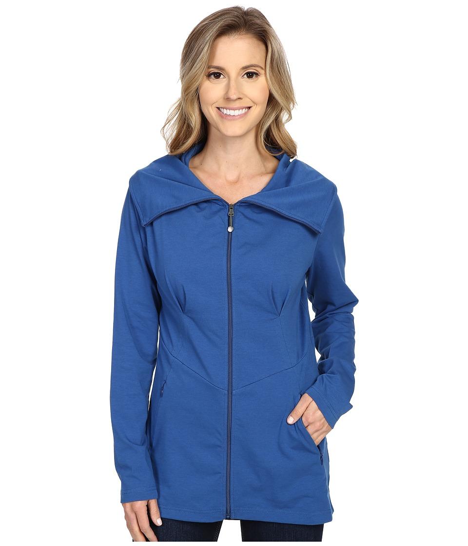 Royal Robbins - Essential Zip-Up Jacket (Dark Lapis) Women's Coat
