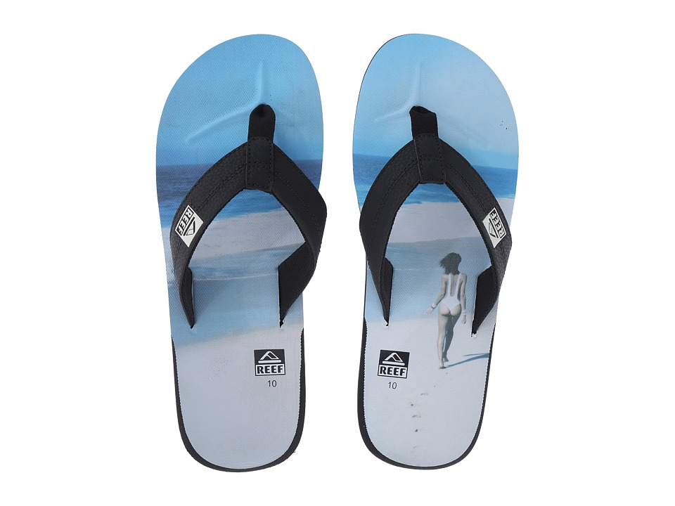 Reef - HT Prints (White/Sand) Men's Sandals