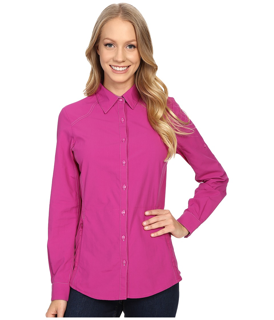 KUHL - Wunderer L/S Shirt (Orchid) Women's Long Sleeve Button Up