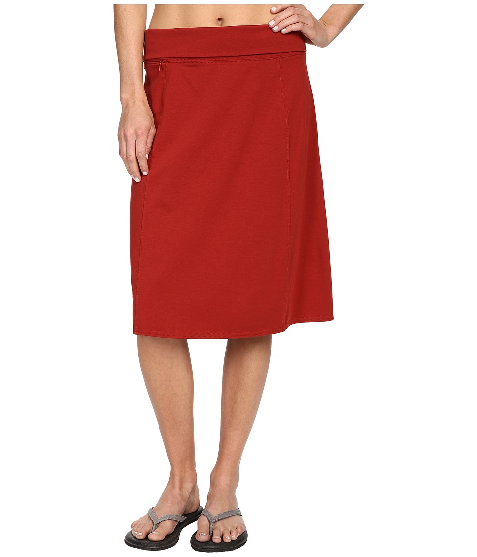 Royal Robbins - Essential Rollover Skirt (Pimento) Women's Skirt