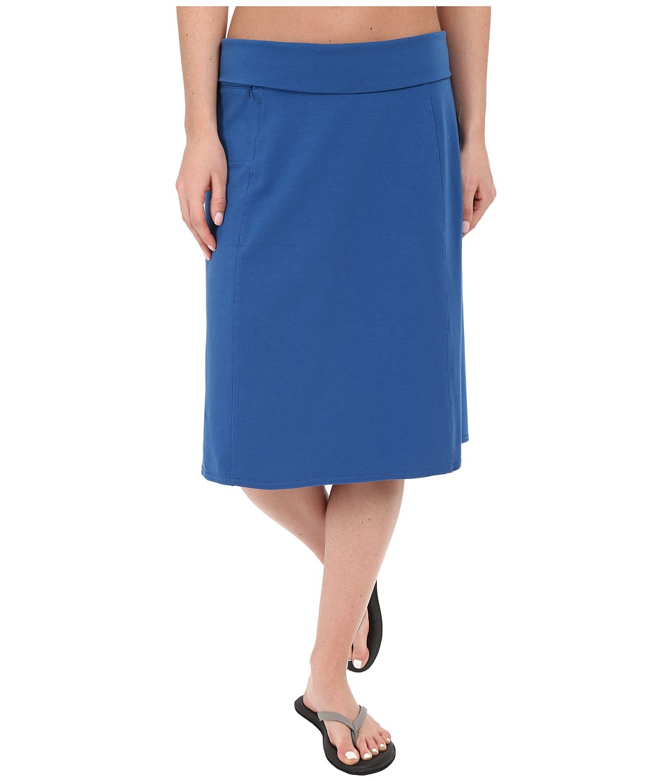 Royal Robbins - Essential Rollover Skirt (Dark Lapis) Women's Skirt