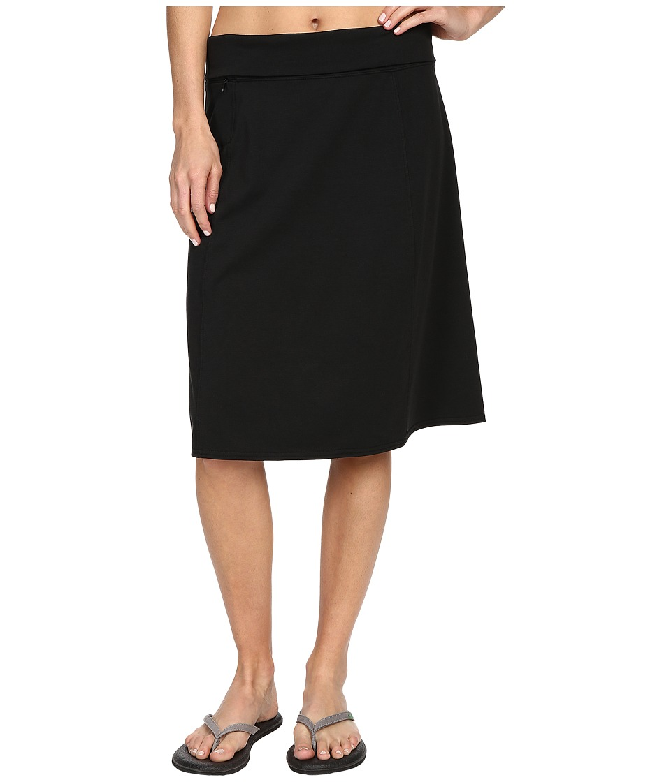 Royal Robbins - Essential Rollover Skirt (Jet Black 1) Women's Skirt