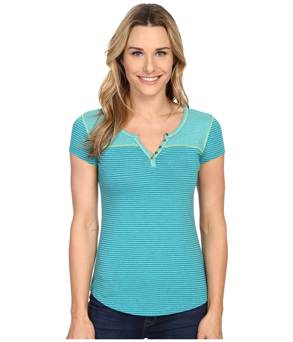 Kuhl - Veloce S/S Top (Mountain Jade) Women's Short Sleeve Pullover