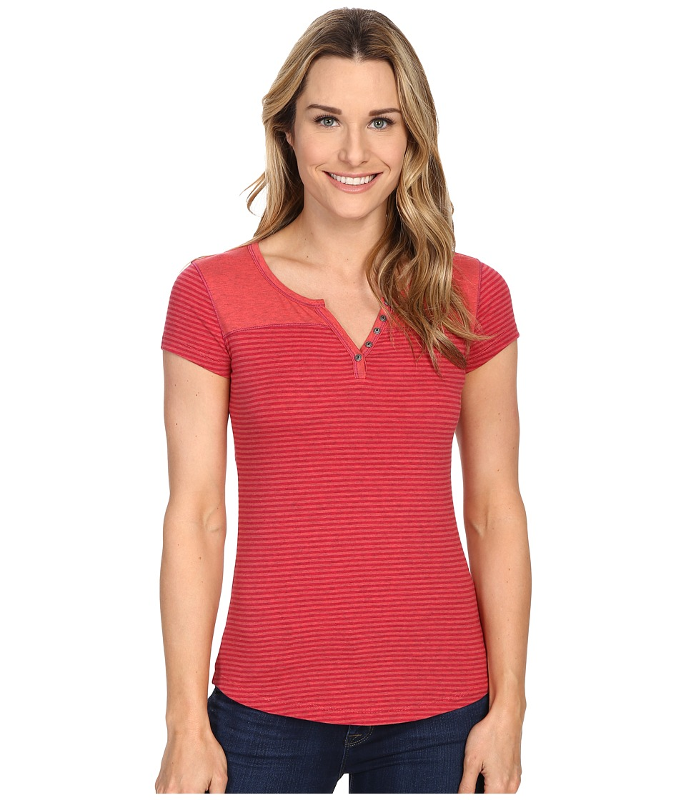 Kuhl - Veloce S/S Top (Poppy) Women's Short Sleeve Pullover