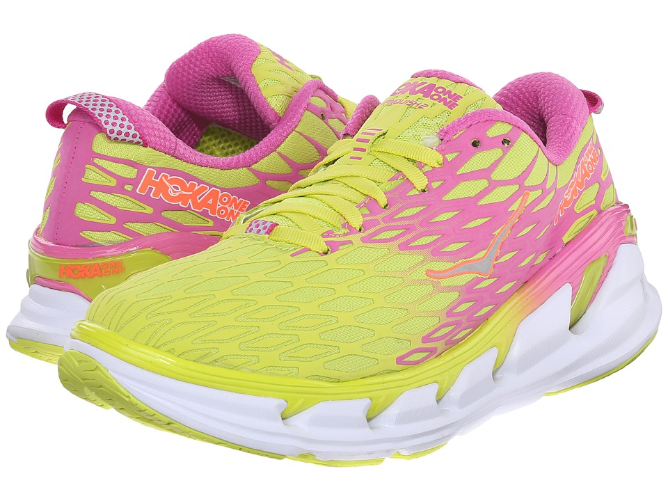 Hoka One One - Vanquish 2 (Acid/Fuchsia) Women's Running Shoes
