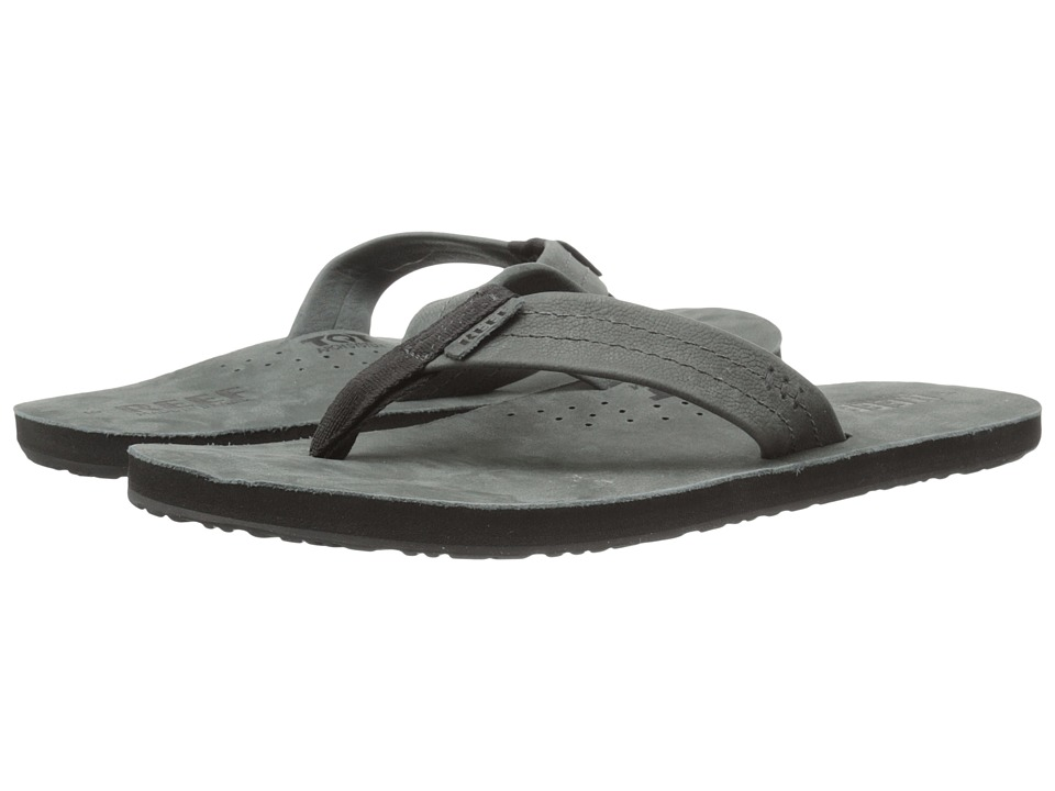Reef - Draftsmen (Black/Dark Grey) Men's Sandals