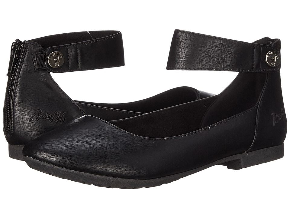 Blowfish - Ranya (Black Delicious PU) Women's Flat Shoes