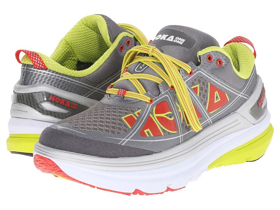 Hoka One One - Constant 2 (Grey/Acid) Women's Running Shoes