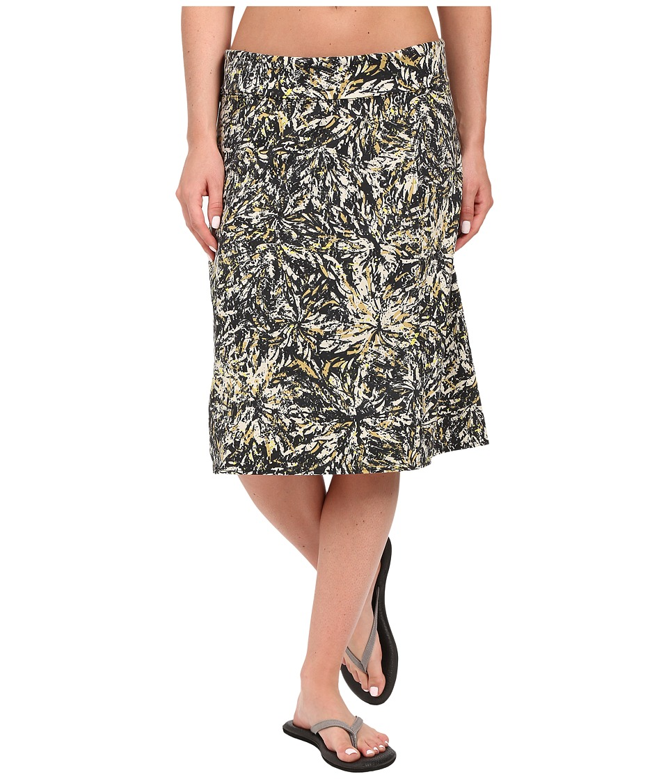 Royal Robbins Essential Floret Skirt (Jet Black) Women