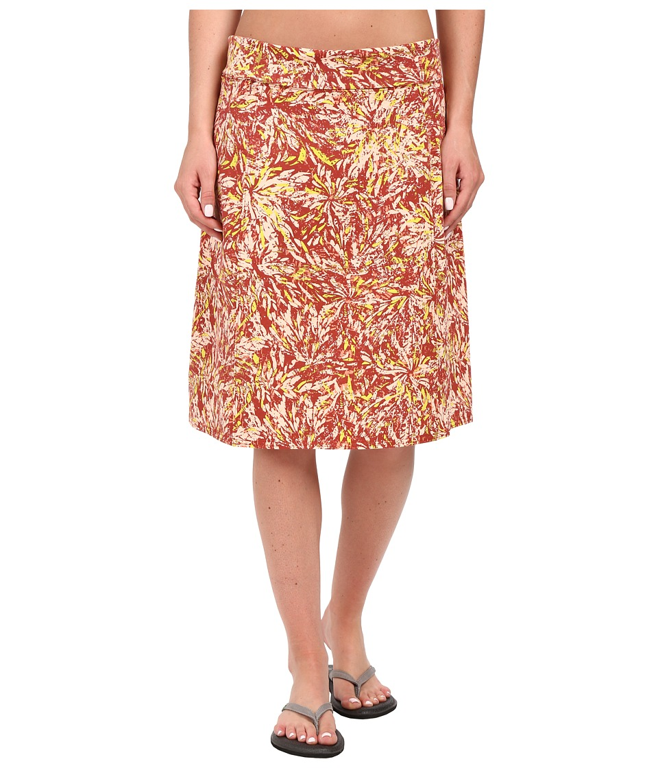 Royal Robbins - Essential Floret Skirt (Pimento) Women's Skirt
