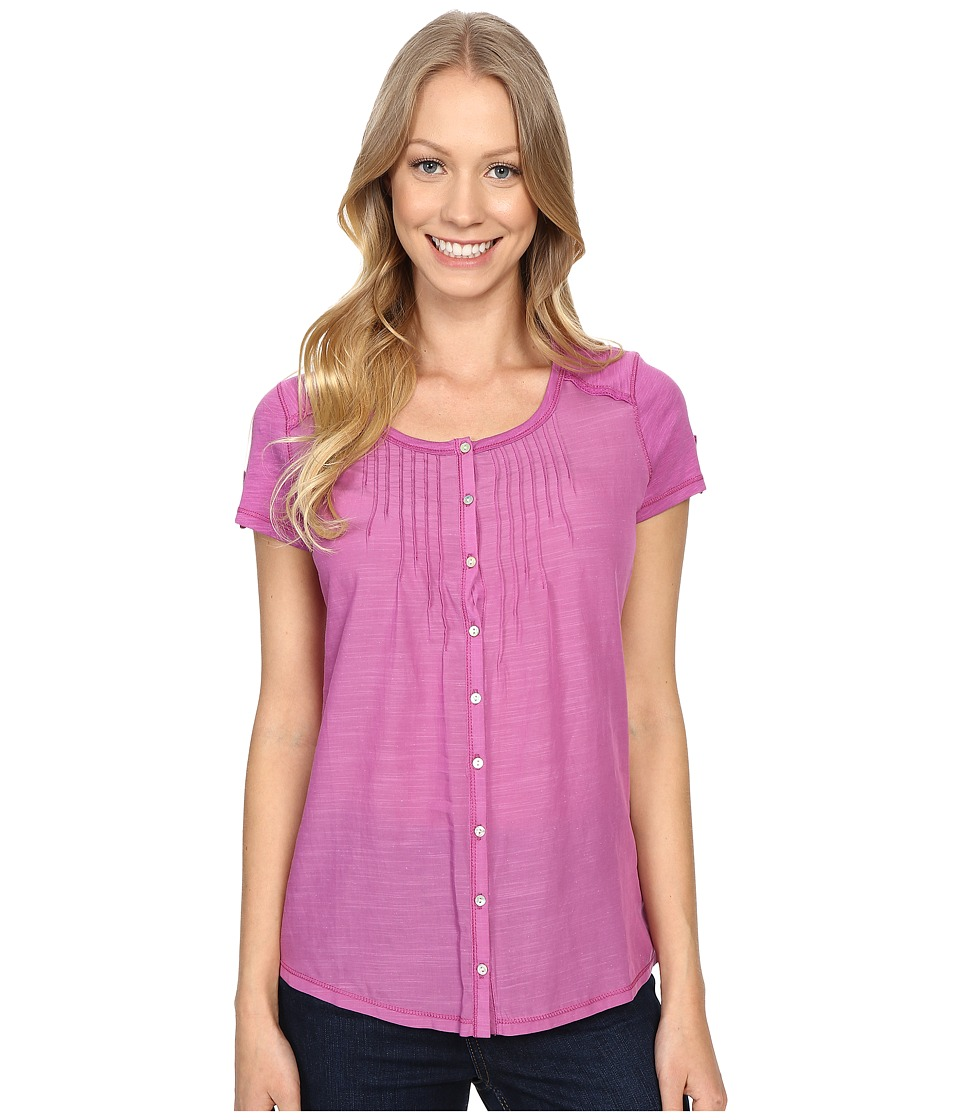 KUHL - Geneva Short Sleeve Shirt (Wild Rose) Women's Short Sleeve Pullover