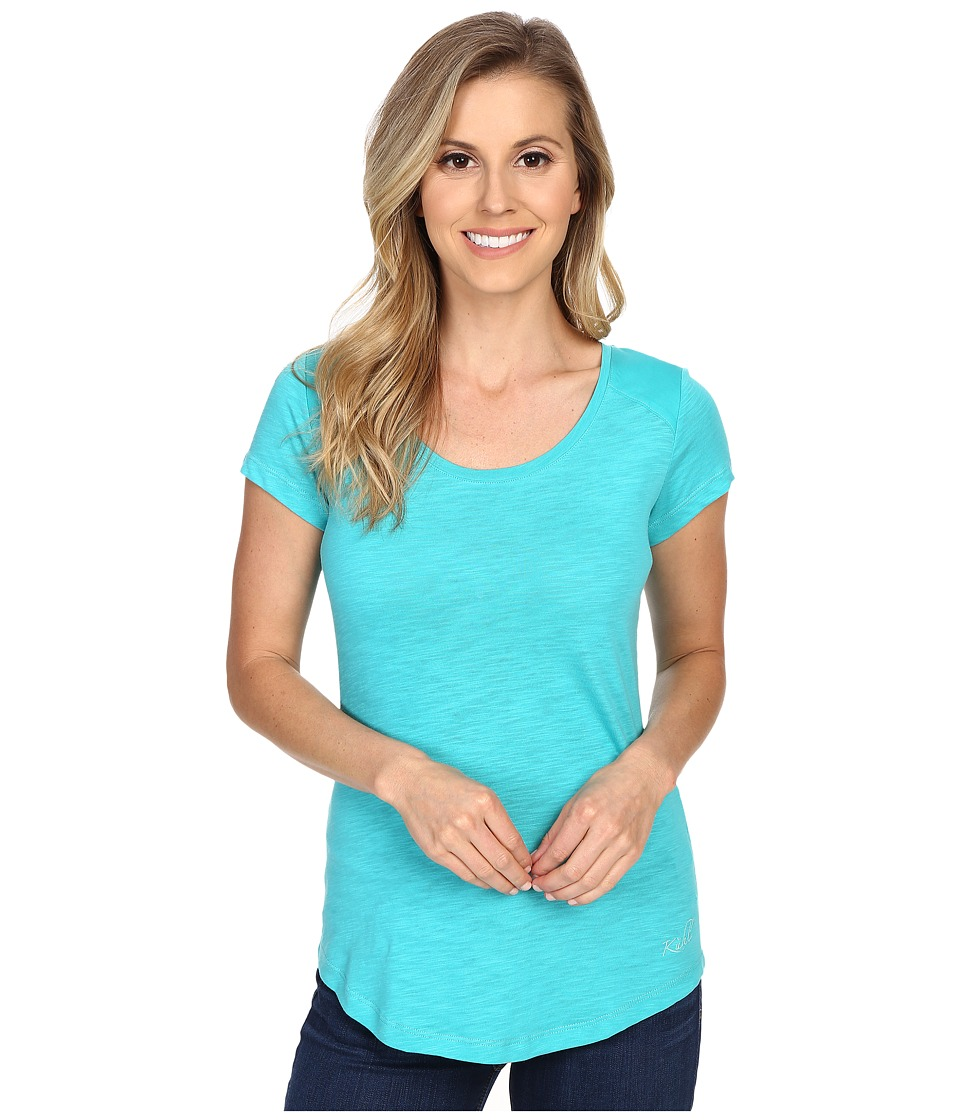 KUHL - Khloe S/S Top (Mountain Jade) Women's Short Sleeve Pullover