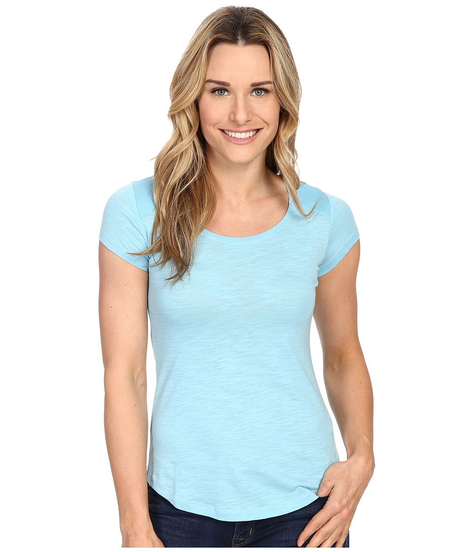 KUHL - Khloe S/S Top (Skylight) Women's Short Sleeve Pullover