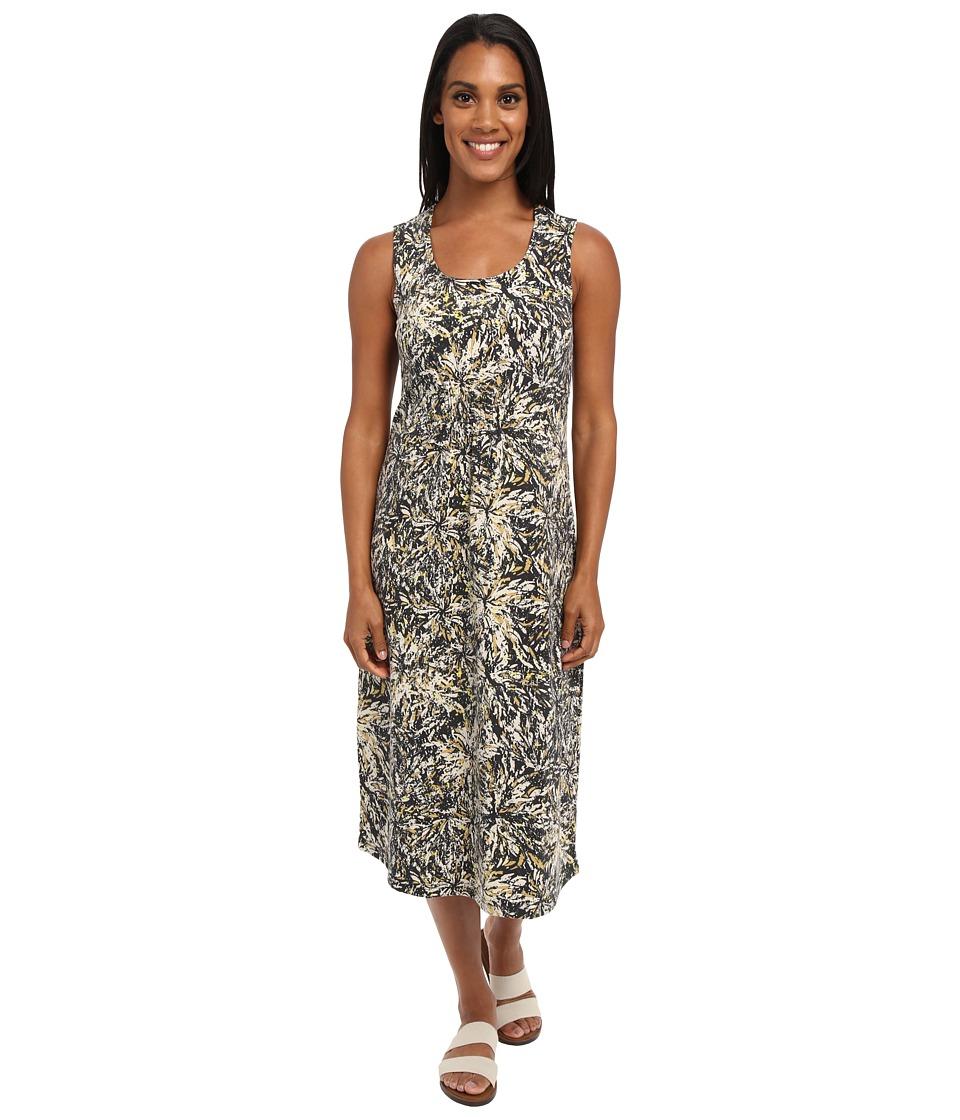 Royal Robbins Essential Floret Dress (Jet Black) Women