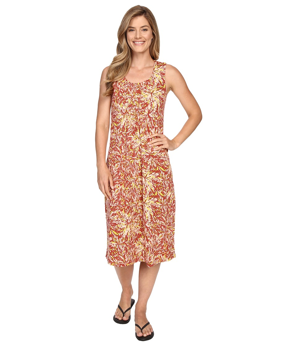 Royal Robbins - Essential Floret Dress (Pimento) Women's Dress