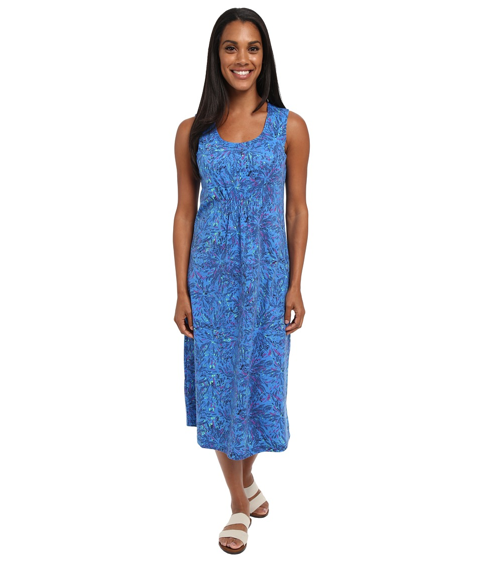 Royal Robbins - Essential Floret Dress (Dark Lapis) Women's Dress
