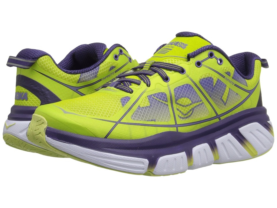 Hoka One One - Infinite (Acid/Mulberry Purple) Women's Running Shoes