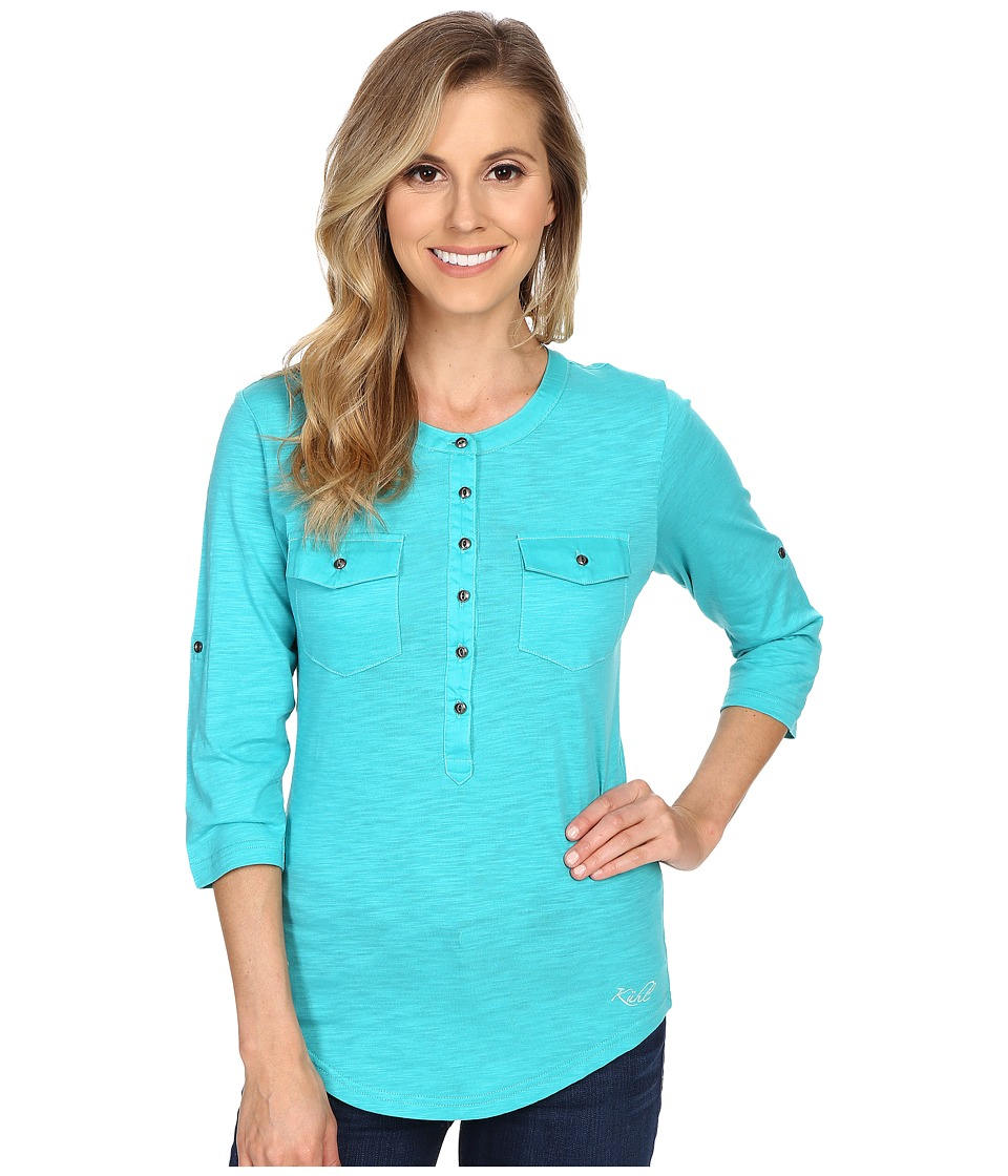 Kuhl - Khloe (Mountain Jade) Women's Long Sleeve Pullover