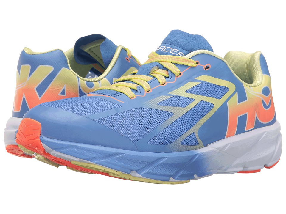 Hoka One One - Rocket Trainer (Ultramarine/Neon Coral) Women's Running Shoes