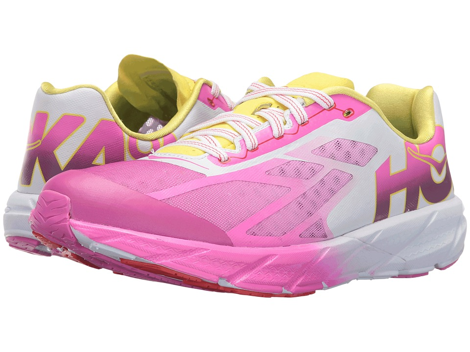 Hoka One One - Rocket Trainer (Fuchsia/Citrus) Women's Running Shoes