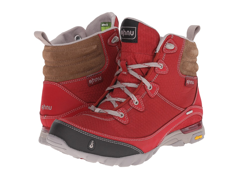 Ahnu - Sugarpine Boot (Garnet Red) Women's Hiking Boots
